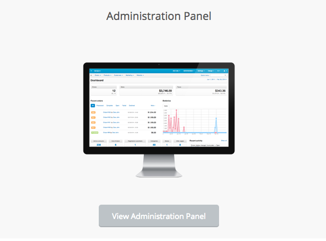 Cs-Cart Demo Administration Panel