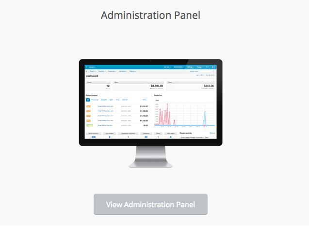 Cs-Cart Demo Administration Panel