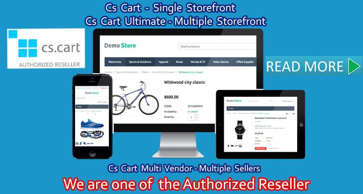 Cs Cart Authorised Reseller