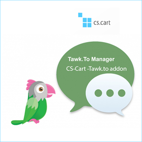 Tawk live chat addon For CS-Cart